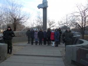 Митинг, посвященный 70-летию освобождения г.Суровикино от немецко-фашистских захватчиков